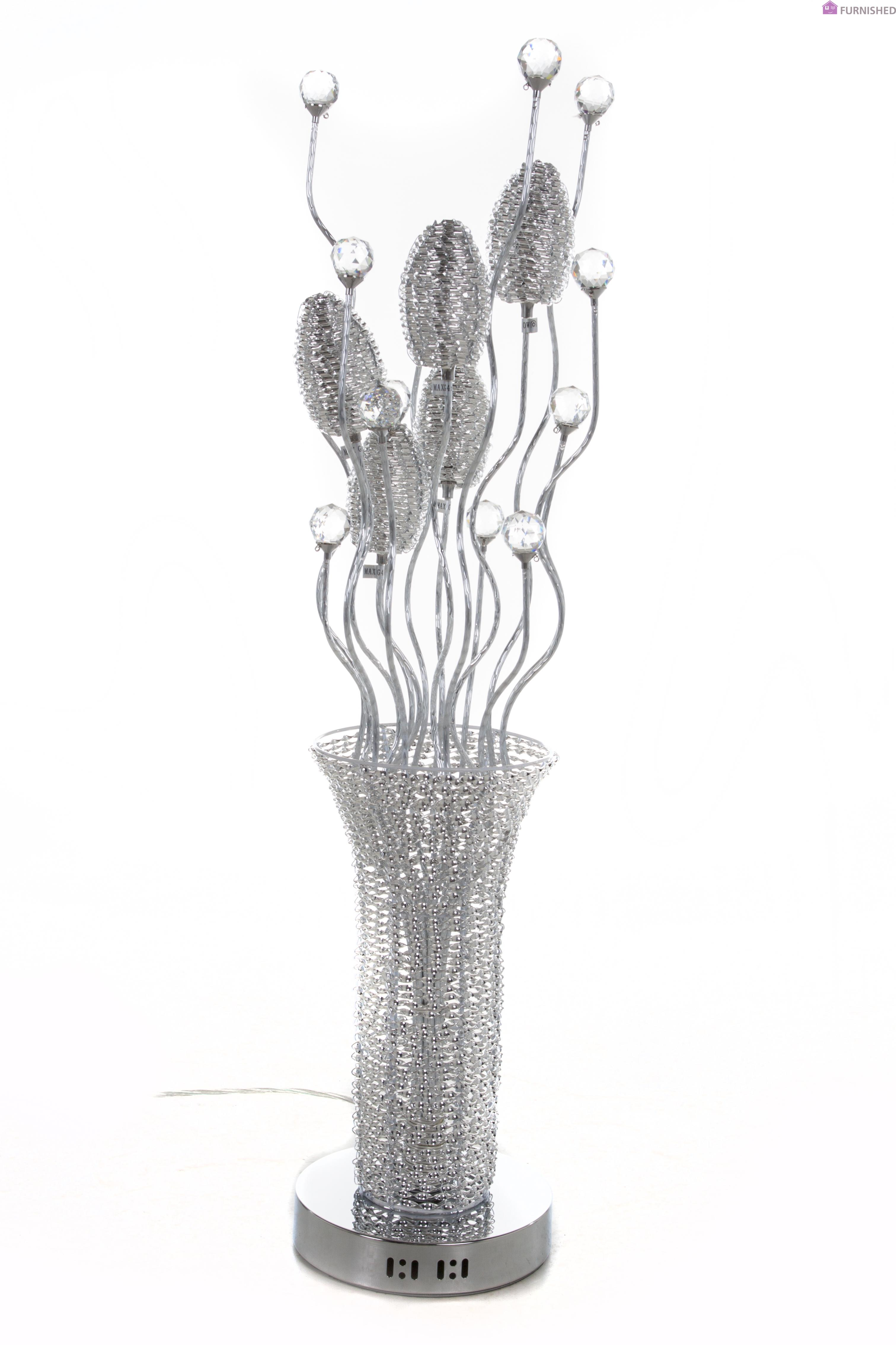 decor accents decorative flower accessories home crystal and enlarged baccarat products vase