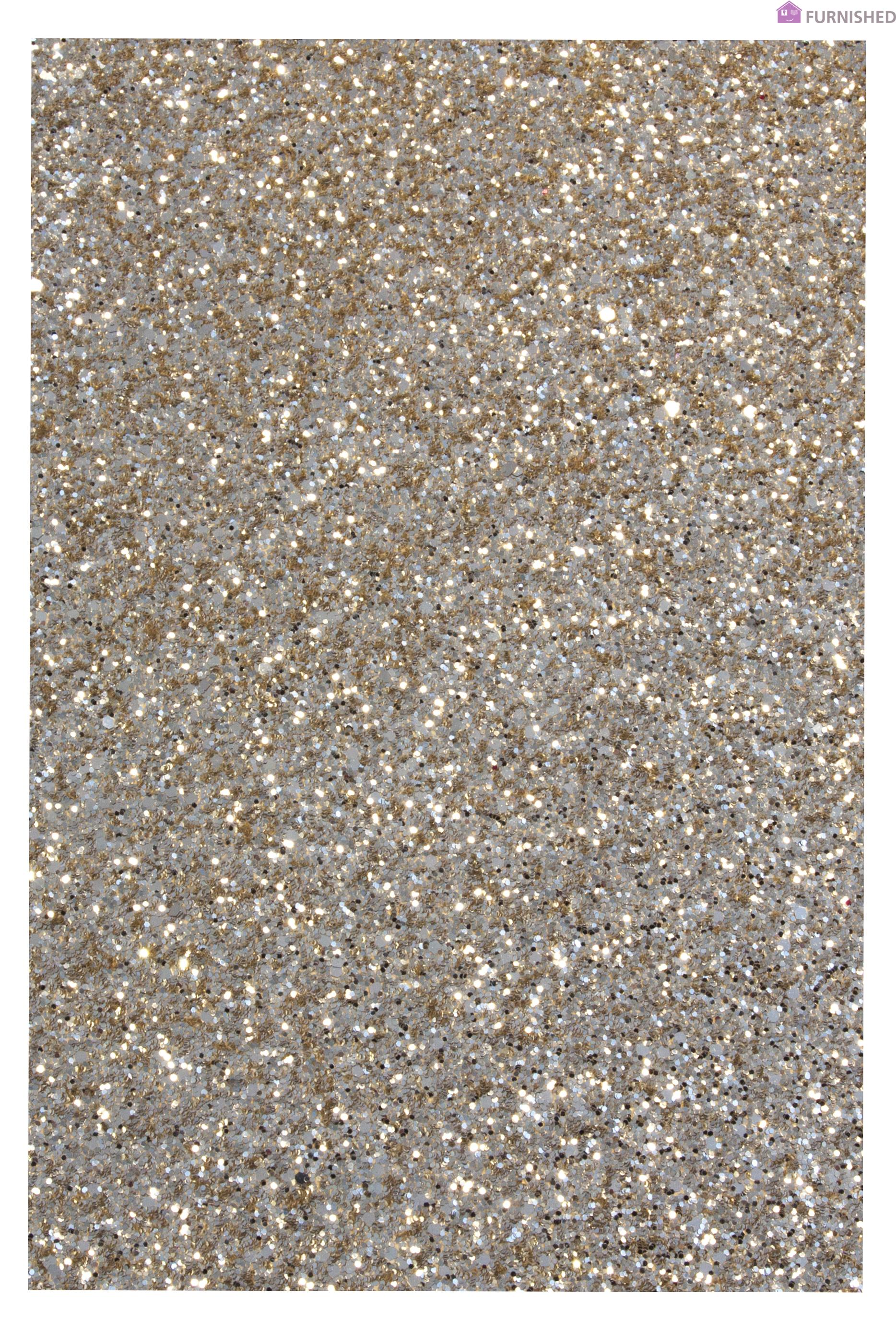 Fabric Wall Trim : Chunky glitter fabric faux leather wall trim bling card