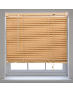 Venetian Blinds Wood-Effect PVC - Teak