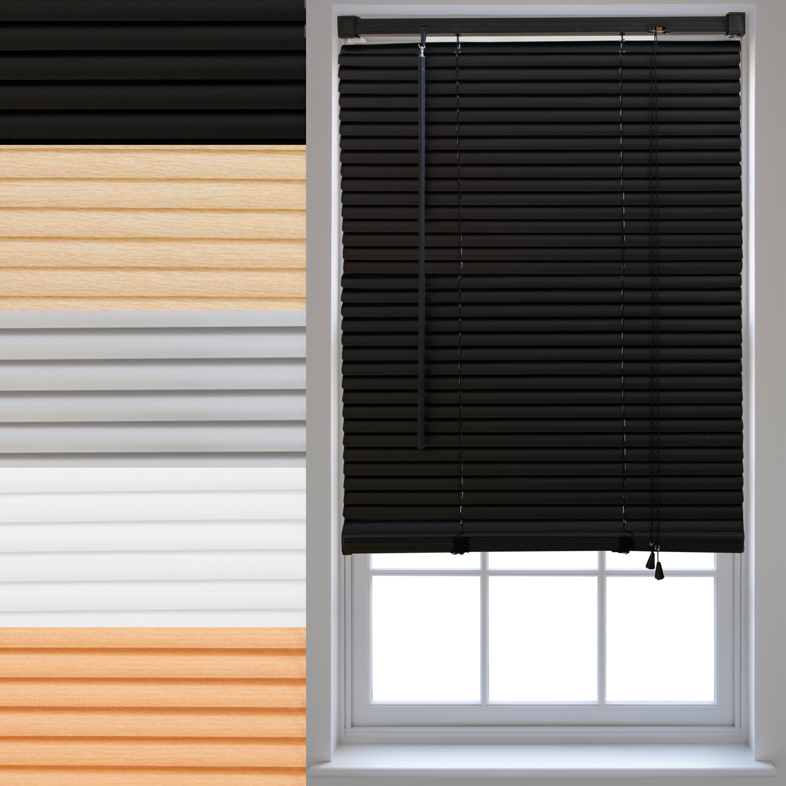 PVC-Venetian-Blinds-Made-To-Measure-Window-Home-Office-Blind-New