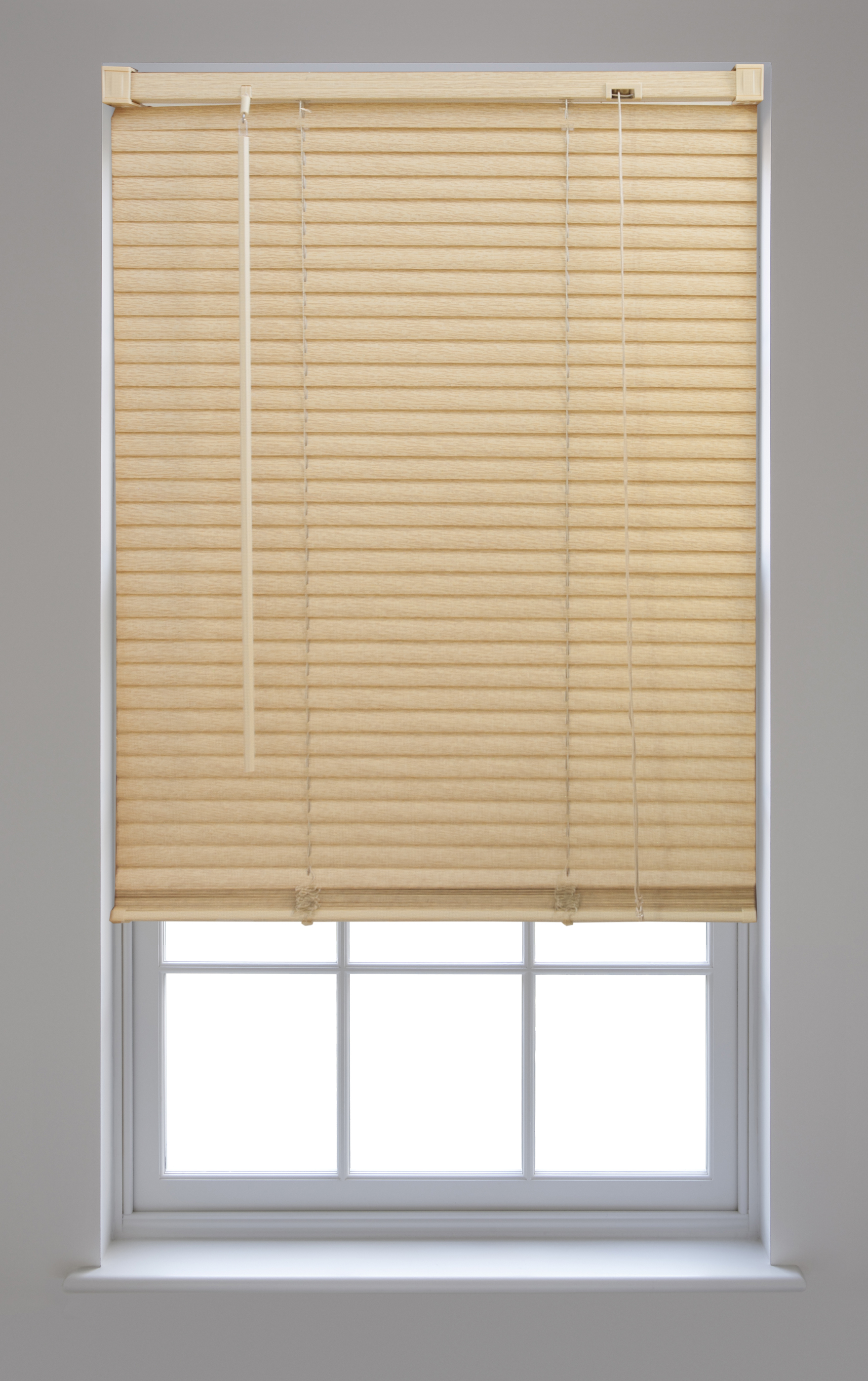 Pvc venetian blinds trimmable window home office blind new for Pvc window frame